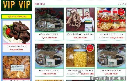 dac san tet online - Nhộn nhịp mua bán đặc sản Tết online