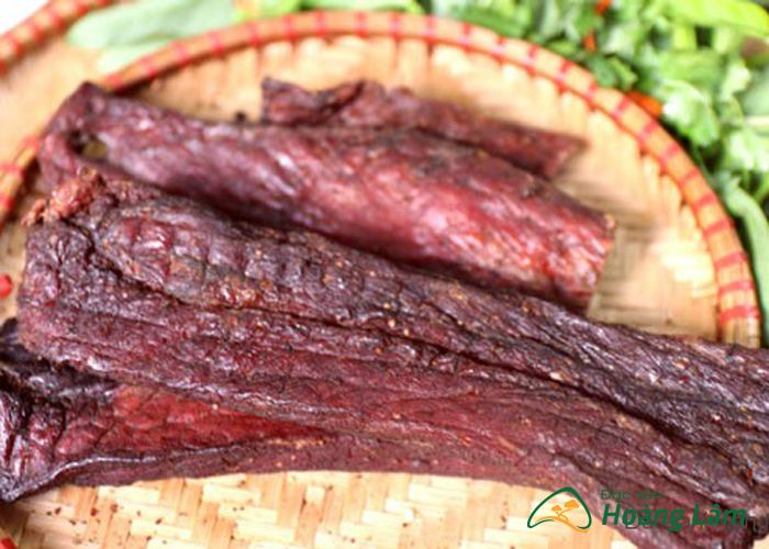 thit lon gac bep ngon 2 - 1kg thịt lợn khô gác bếp