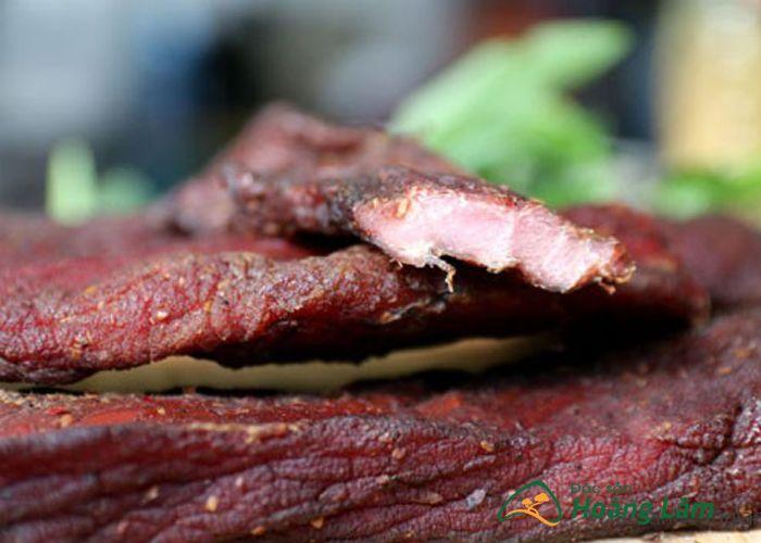 thit lon gac bep ngon 4 - 500g Thịt lợn khô gác bếp