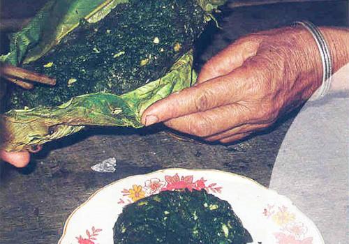 mon an reu da 5 - Về bản Chiềng Xôm ăn pa pỉnh tộp