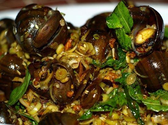 oc xao hn - Top 10 món ăn nổi tiếng không nên bỏ qua khi du lịch Hà Nội