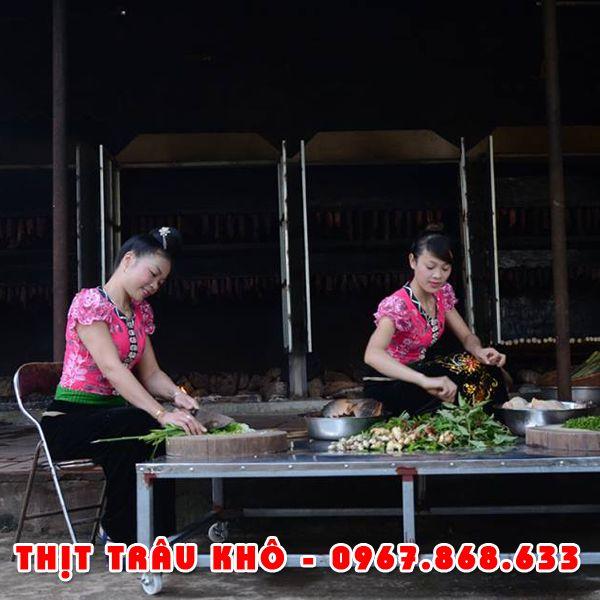 thitkho11 - 1kg Thịt trâu khô gác bếp