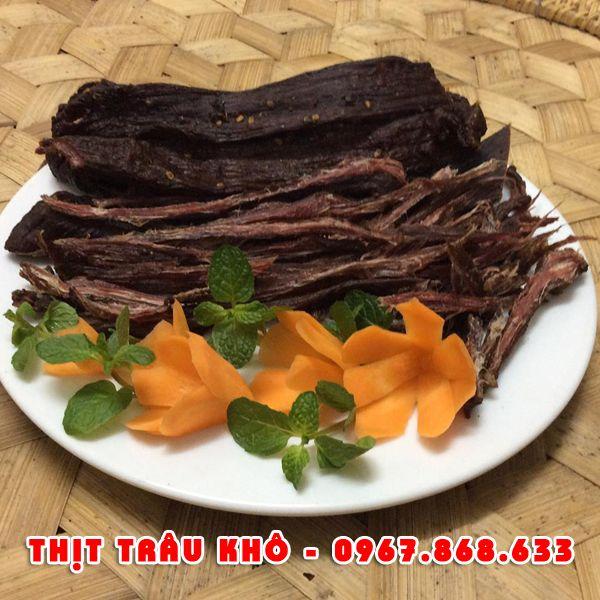 thitkho8 - 1kg Thịt trâu khô gác bếp
