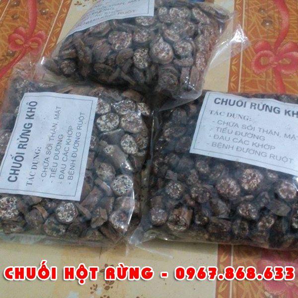 chuoihot3 - Chuối hột rừng khô