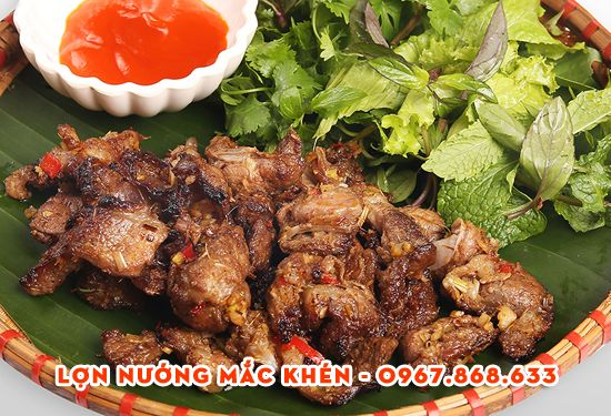 thit lon nuong mac khen - 2kg Hạt mắc khén