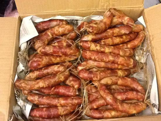 lap xuong gac bep 2 - Món thịt bò khô nổi tiếng của dân tộc Tây Bắc
