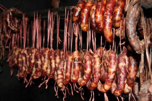 lap xuong gac bep ngon 1 - 2kg Lạp xưởng gác bếp