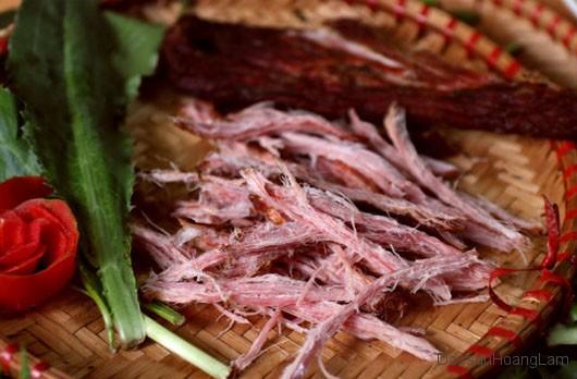 thit lon kho hoang lam 2 - 2kg thịt lợn khô gác bếp