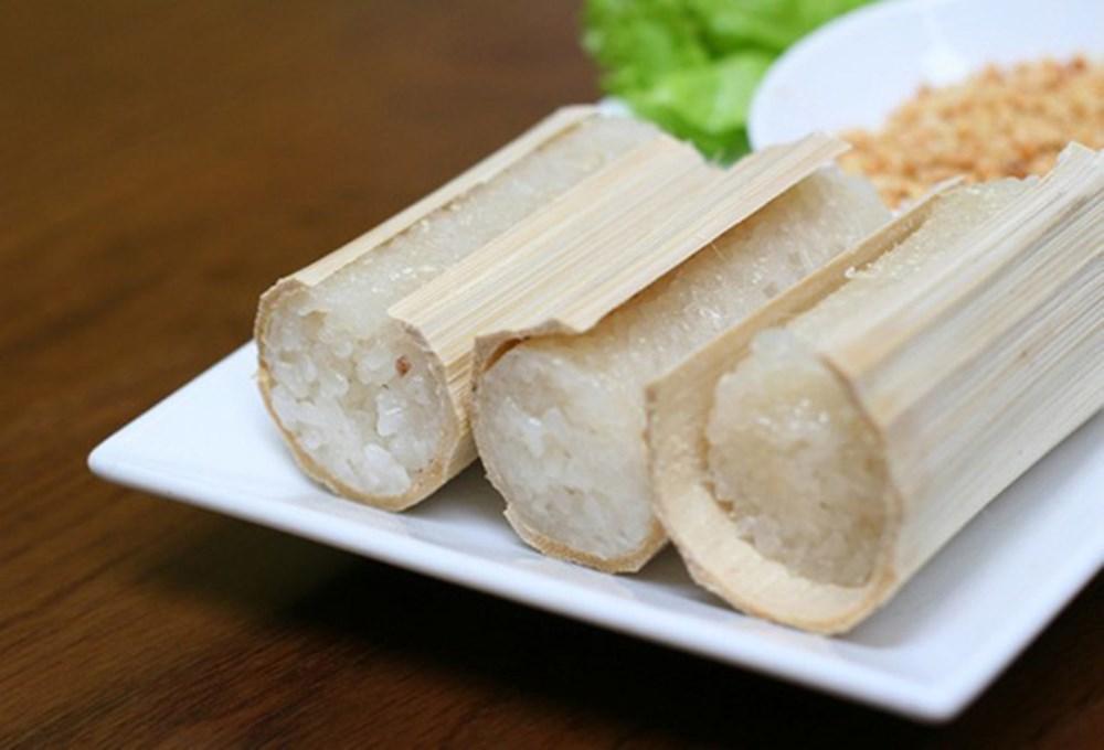 Đặc sản cơm lam Sơn La