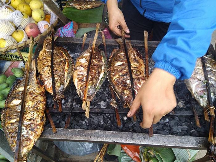 Đặc sản Pa pỉng tộp Điện Biên