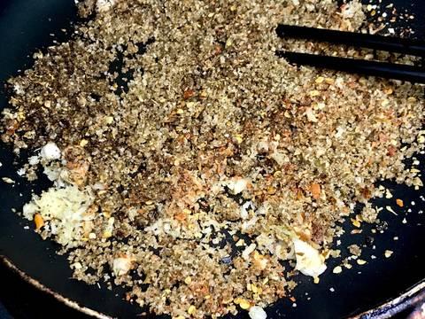 Bò hong đùi bên bếp 😜 (Thịt gác bếp) bước làm 8 hình