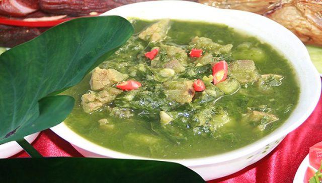 Trong các món đặc sản Sơn La, thịt thối mang hương vị độc đáo, khó quên nhất.