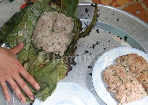 thit bam nuong kieu nguoi thai - Thịt băm nướng kiểu người Thái
