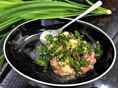 Thịt nướng rau thơm bước làm 2 hình