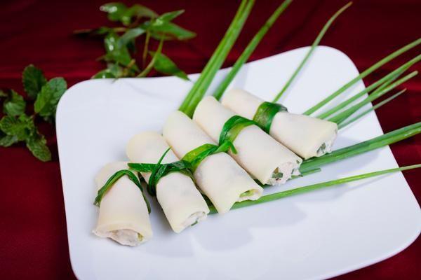 Ẩm thực Yên Bái: Măng vầu cuốn thịt
