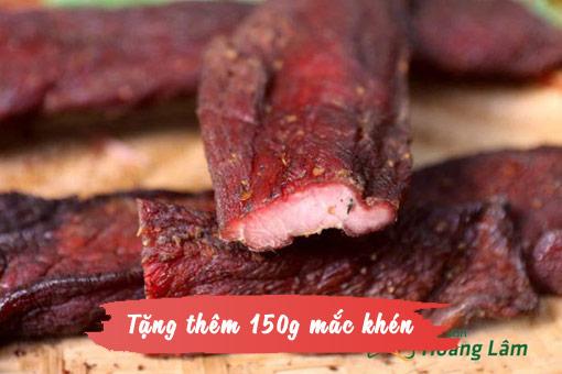 1kg thit lon gac bep ngon 1 - 1kg thịt lợn khô gác bếp