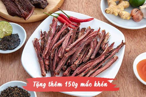 1kg thit bo gac bep ngon 1 - 1kg thịt bò khô gác bếp