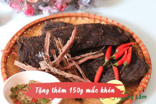 1kg thit kho gac bep ngon 4 - 1kg thịt trâu khô gác bếp