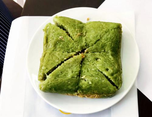 Đặc sản bánh chưng thơm ngon của vùng đất Điện Biên. Ảnh: Tri thức trực tuyến