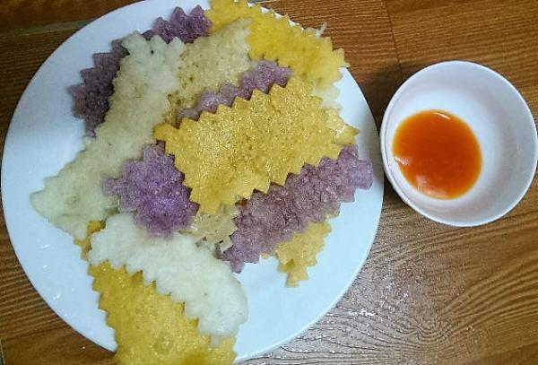 banh khau xen dien bien an mot lan nho mai 2 - Bánh Khẩu Xén Điện Biên, ăn một lần nhớ mãi