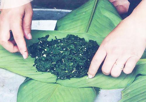 la lung mon reu da lai chau 3 - Lạ lùng món rêu đá Lai Châu