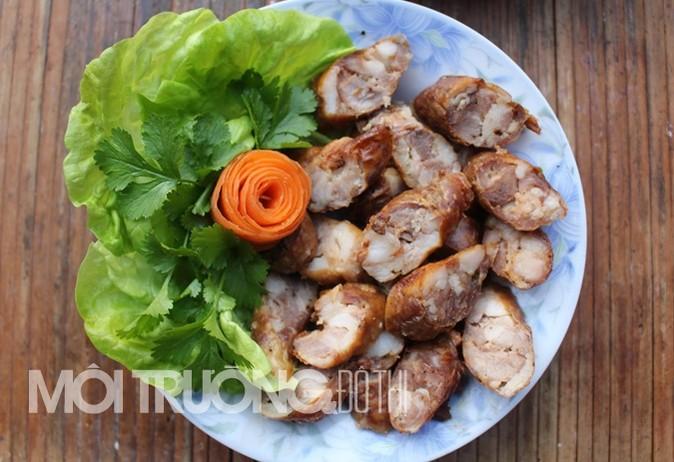 lap xuong gac bep mon an dac san tay bac ngay tet - Món chẳm chéo khô cơ bản của người Thái Tây Bắc