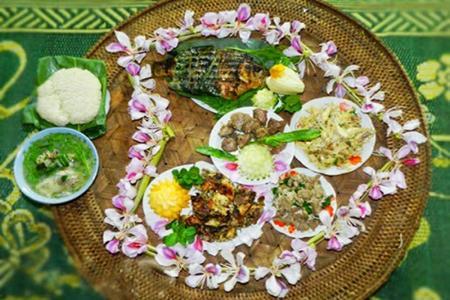 say long nhung mon ngon tu hoa ban o dien bien 5 - Say lòng những món ngon từ hoa ban ở Điện Biên